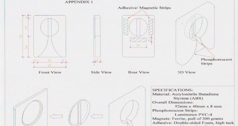 technical drawings product spec