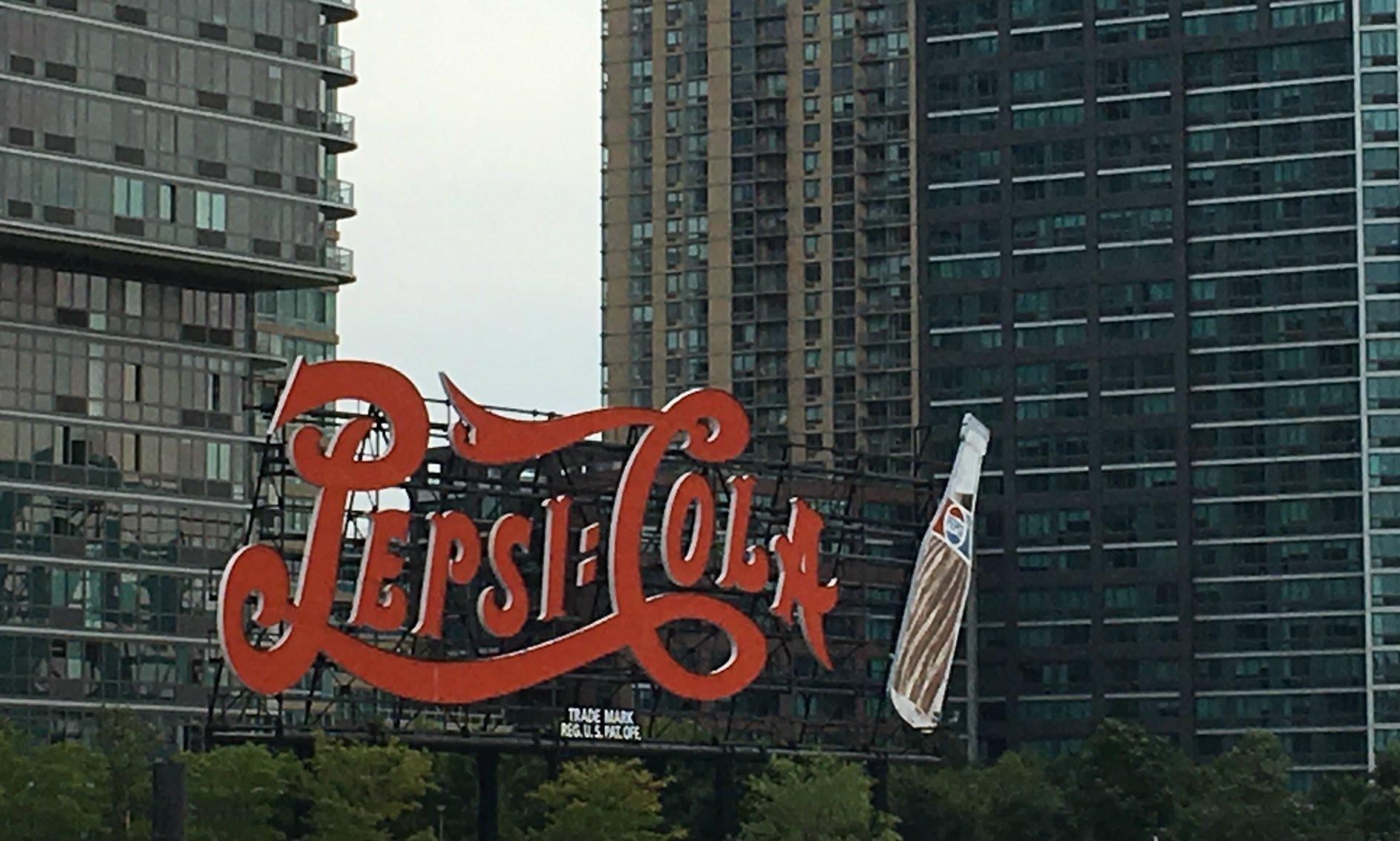 pepsi cola sign long island city